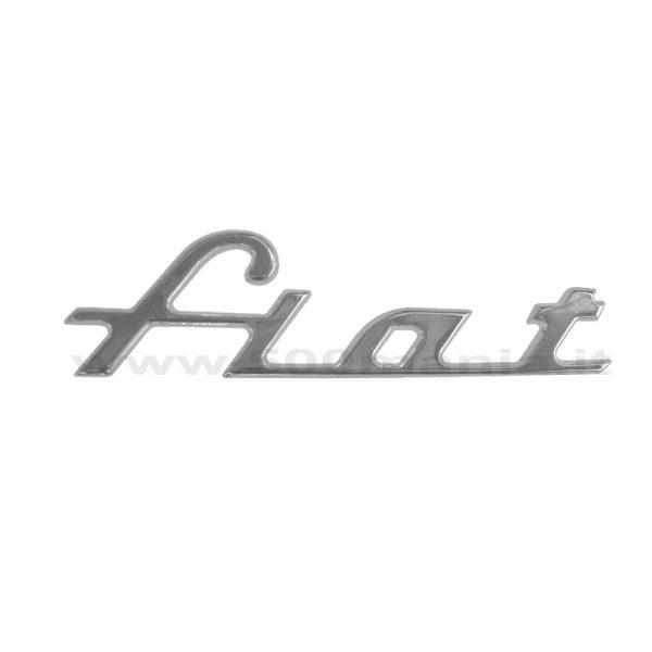 Scritta Fiat per 600 Abarth