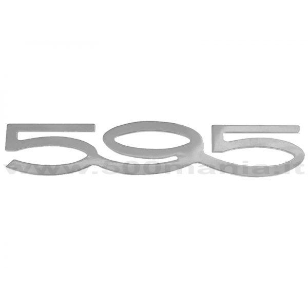 Scritta Abarth 595