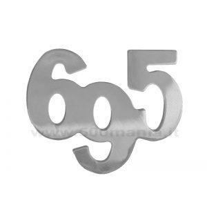 Scritta Abarth 695