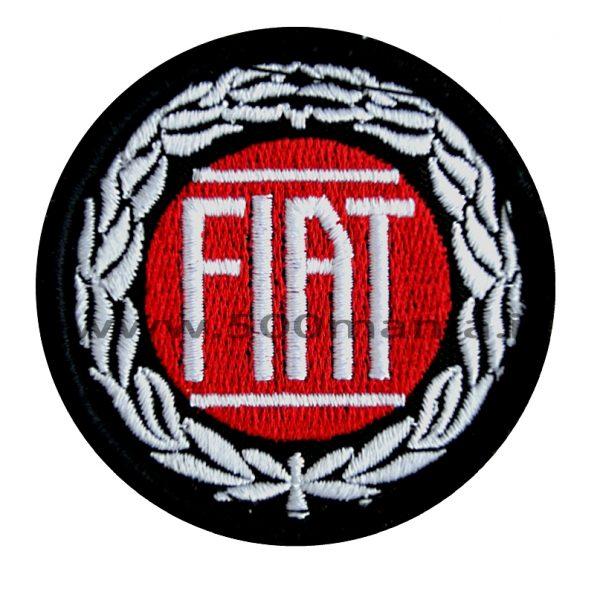 Stemma Fiat in stoffa