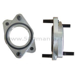 Coppia distanziali in alluminio Ø 40/40 mm