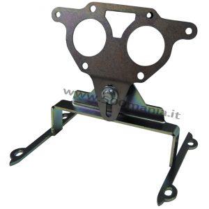 Supporto per carburatore doppio corpo orizzontale Solex Ø 32/32
