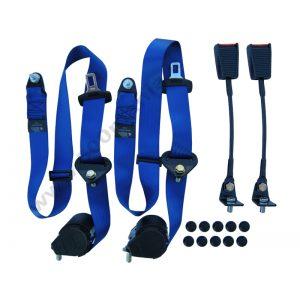 Kit cinture di sicurezza - Blu -