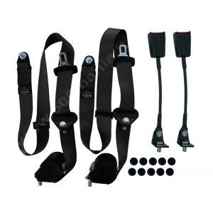 Kit cinture di sicurezza - Nere -