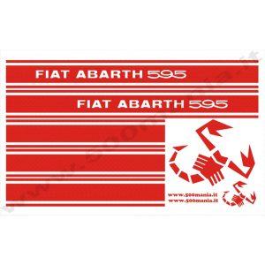 Adesivi Abarth 595