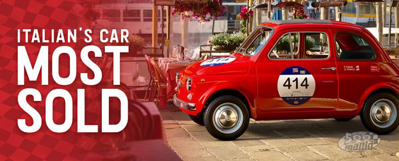 Fiat 500: Italian's car most sold
