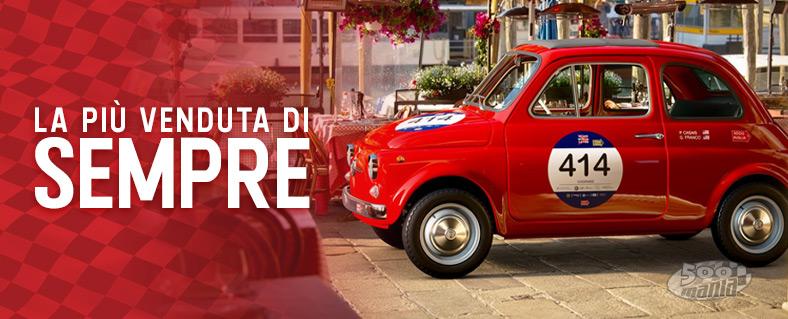 Fiat 500: la vettura più venduta di sempre