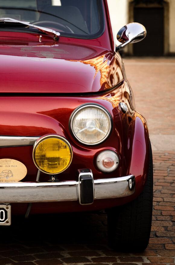 Vendita ricambi e accessori Fiat 500
